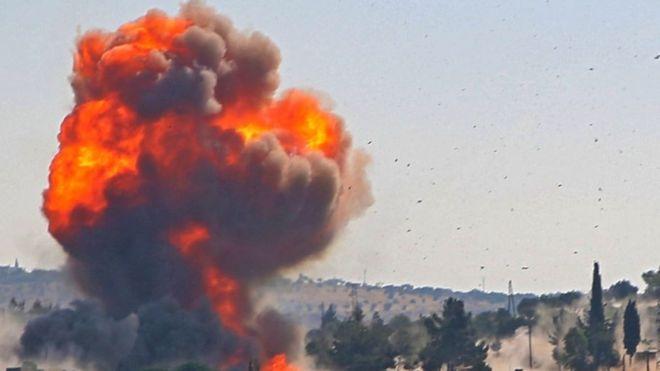 انفجار في خط الغاز العربي يتسبب بانقطاع الكهرباء في سوريا