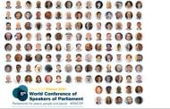 اختتام أشغال المؤتمر العالمي الخامس لرؤساء البرلمانات