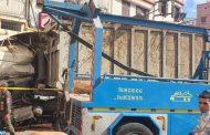 الدار البيضاء.. إصابة سائق شاحنة بعد اصطدامه بمنزل
