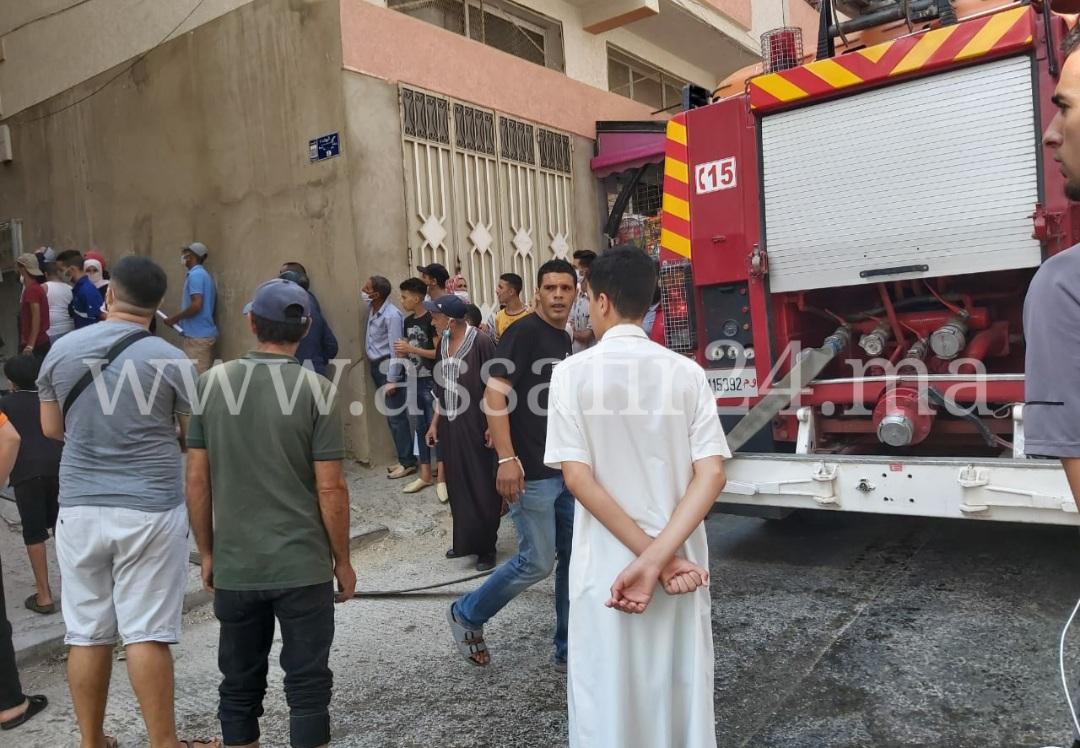 حصري.. وفاة طفل بعد نشوب حريق داخل شقة سكنية بطنجة