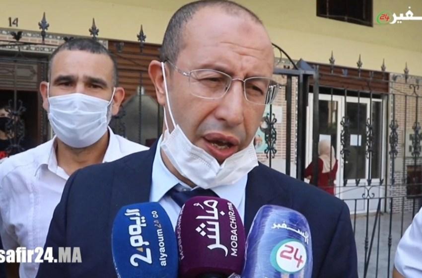 رئيس جامعة التايكواندو يزور منزل الطفل الراحل عدنان ويقدم لأسرته العزاء