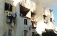 عاجل ...انفجار ضخم يهز مشروع الحسن الثاني بالحي المحمدي بالبيضاء