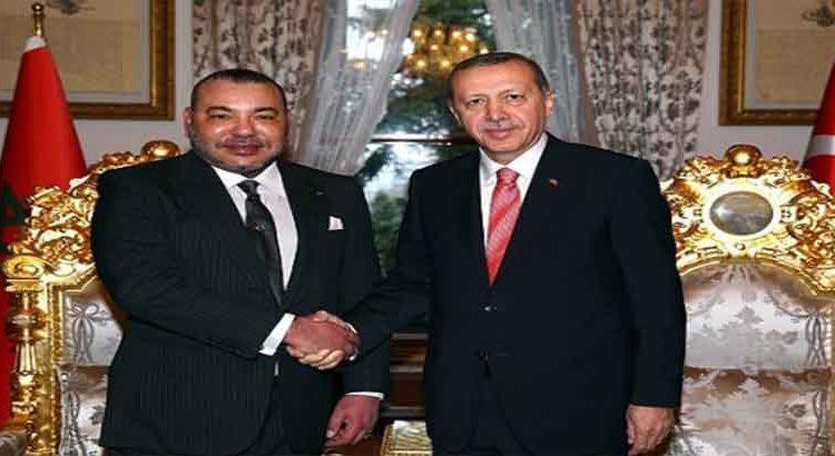 الملك محمد السادس يهنئ أردوغان بالعيد الوطني لبلاده