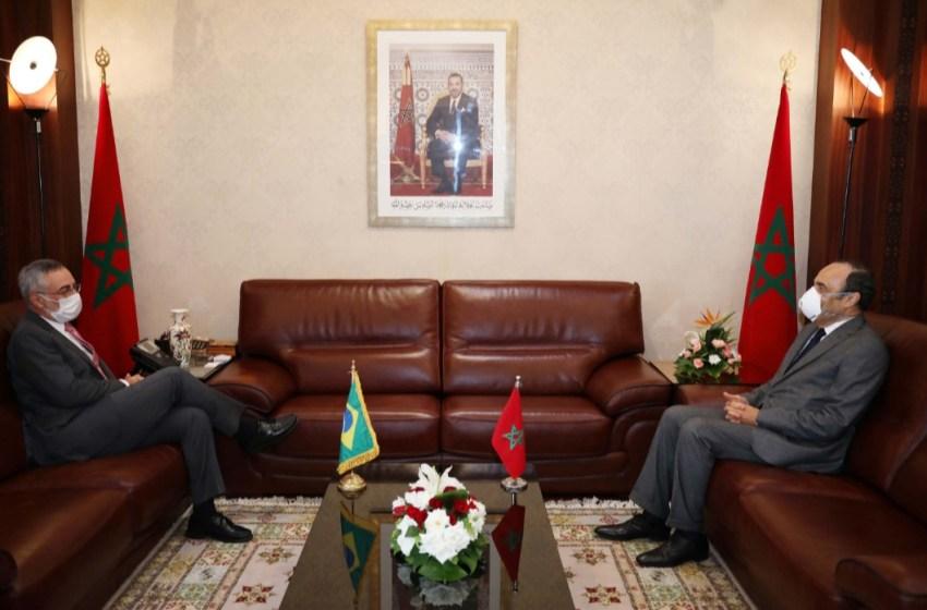 سفير البرازيل يشيد بالدور الريادي للملك محمد السادس في تعزيز التقارب بين الحضارات والأديان