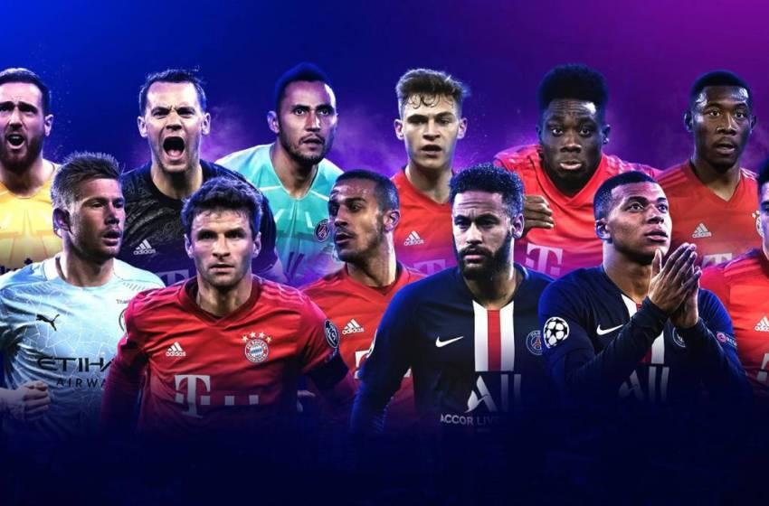 الاتحاد الأوروبي لكرة القدم يعلن عن قائمة المرشحين للتشكيلة المثالية