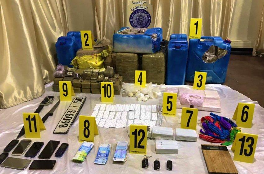 الناظور.. إجهاض عملية لتهريب كميات من الكوكايين والهيروين والأقراص الطبية المخدرة نحو المغرب انطلاقا من مليلية