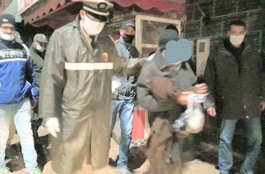 سلطات سيدي بنور تجمع المتشردين والأشخاص بدون مأوى