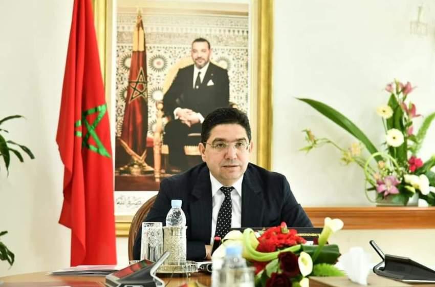بوريطة يتباحث مع وزير خارجية اللوكسمبورغ