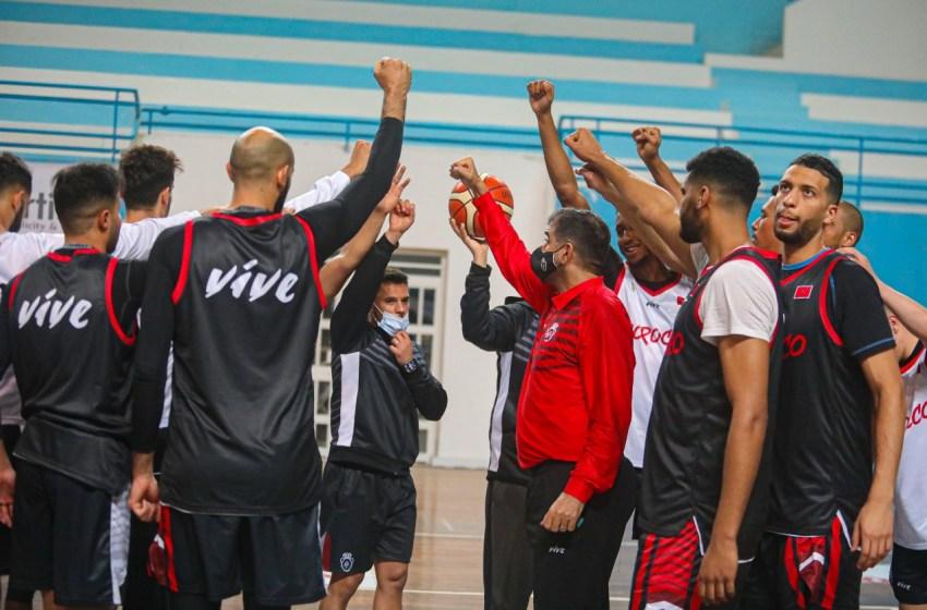"""المنتخب الوطني لكرة السلة يواصل استعداداته لمنافسة """"افرو باسكيط"""" بتونس"""