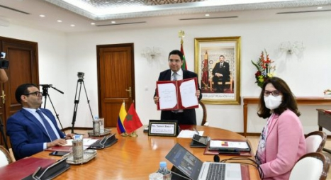 التوقيع على أربع إتفاقيات بين المغرب وكولومبيا