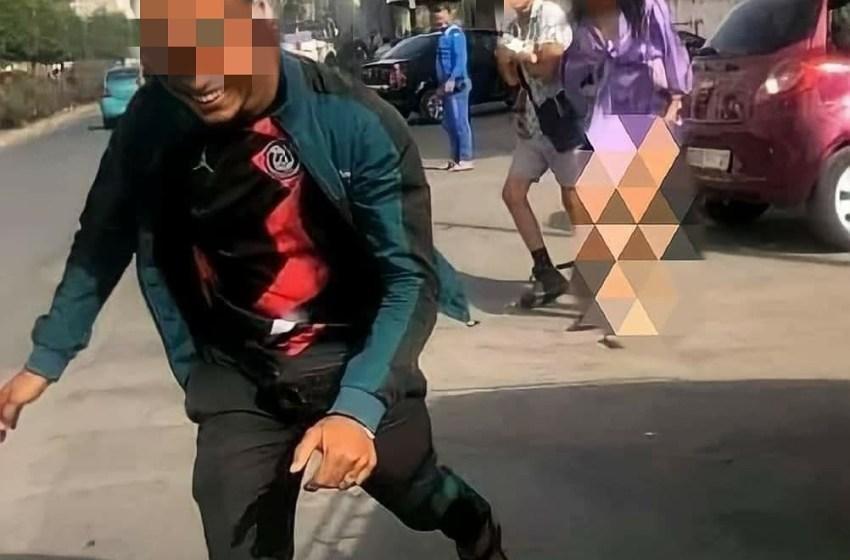 أمن طنجة يوقف مصور فيديو واقعة التحرش بفتاة وسط الشارع العام