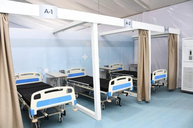 ورزازات.. انطلاق بناء مستشفى ميداني للتكفل بحالات كوفيد 19.