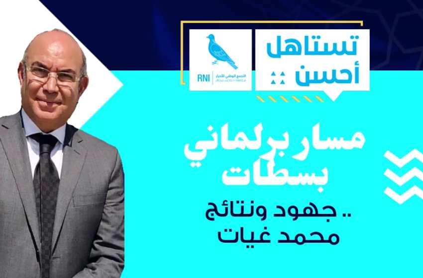 مسار برلماني بسطات.. جهود ونتائج محمد غيات