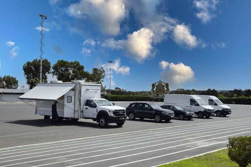 """سفارة أمريكا تمنح مركبات ومعدات لمديرية """"حموشي"""""""