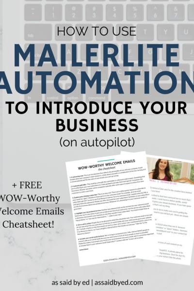 Mailerlite Automation