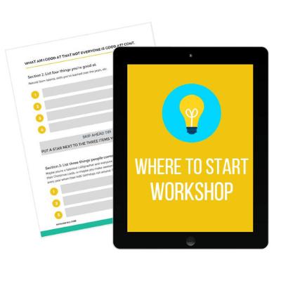 Where to Start Workshop