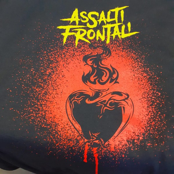 T-shirt Fuoco Assalti Frontali