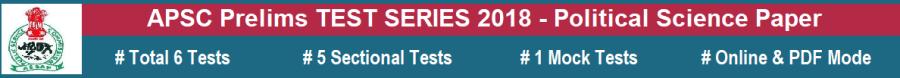 APSC Prelim Test 2018 - Polity Paper menu