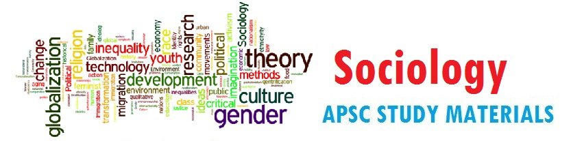 Sociology Study Materials - Assamexam