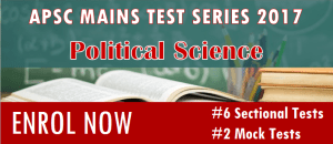 APSC Mains test series - Polity widget