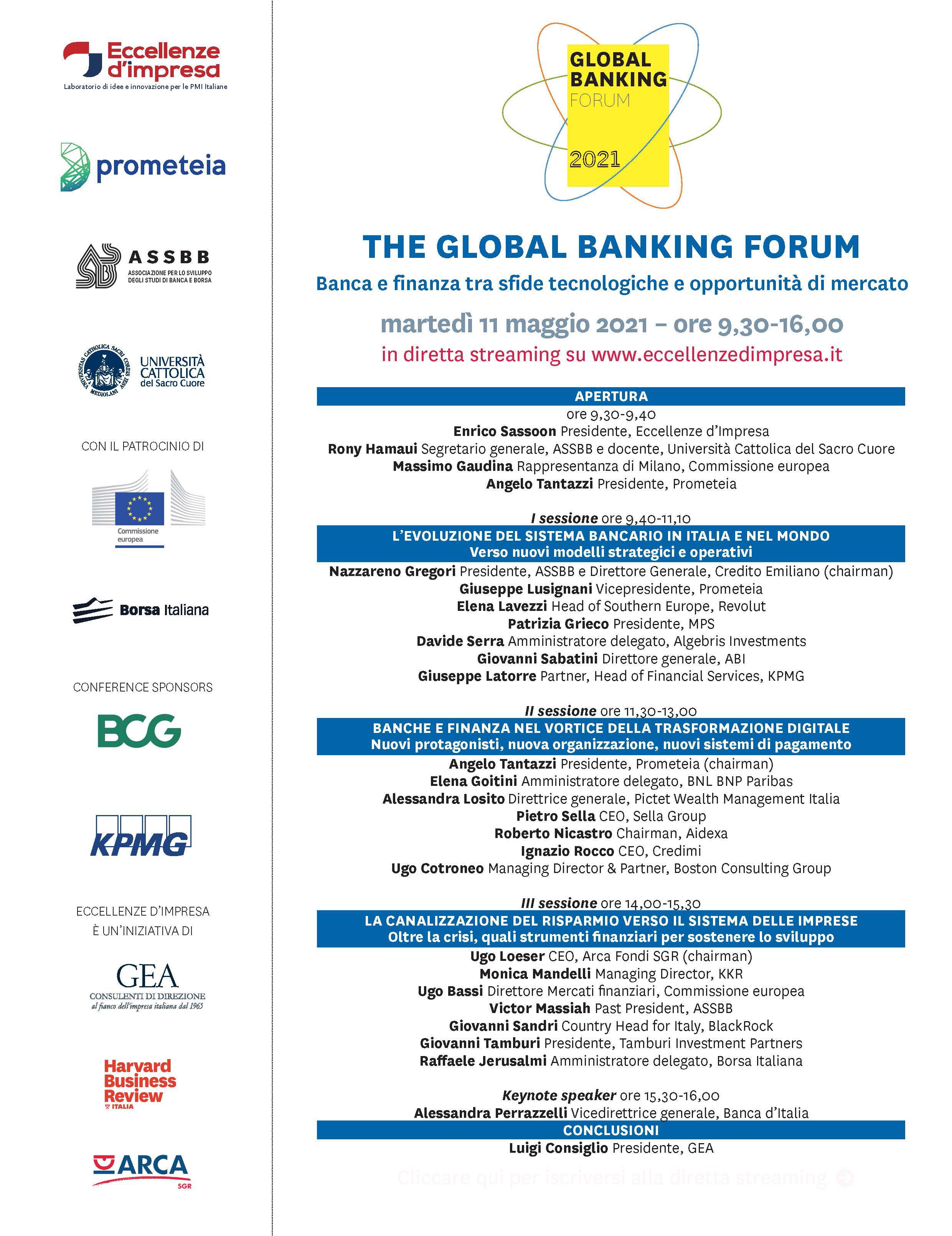 Programma Global Banking Forum