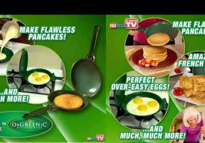 Flip Jack Pancake Pan Offer Seen On TV