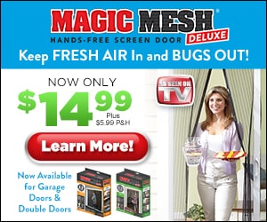 as seen on tv magic mesh