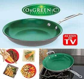 orgreenic as seen on tv