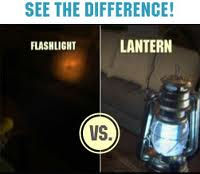 flashlight vs lantern