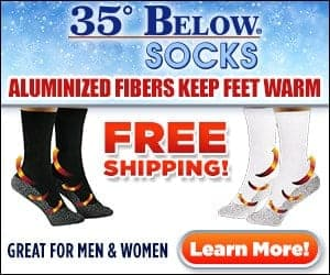 as seen on tv 35 degree below socks