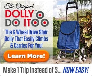The Dolly Do It a Stair Climbing Hand Dolly