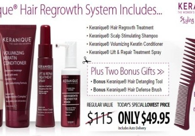 keranique hair regrowth - Keranique Hair Regrowth Treatment for Women