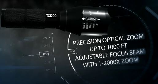 Military Grade TC1200 Tactical Flashlight Free Shipping