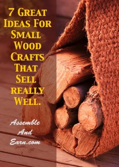 9 woodworking ideas that sell well