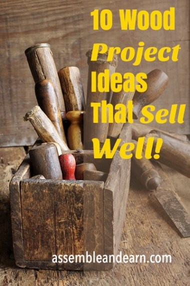 Top 10 best selling wood crafts to make and sell for Good ideas to sell