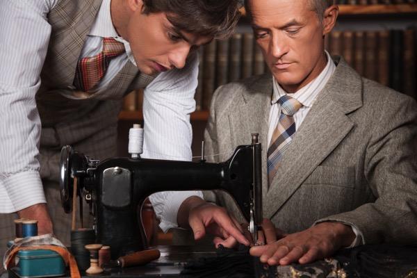 Mens tailor