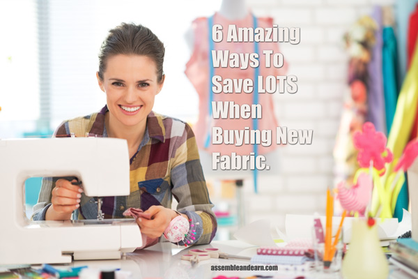 Save buying fabric
