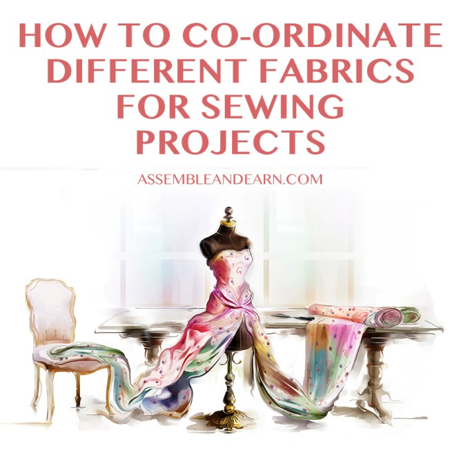 how to mix different fabrics for sewing projects