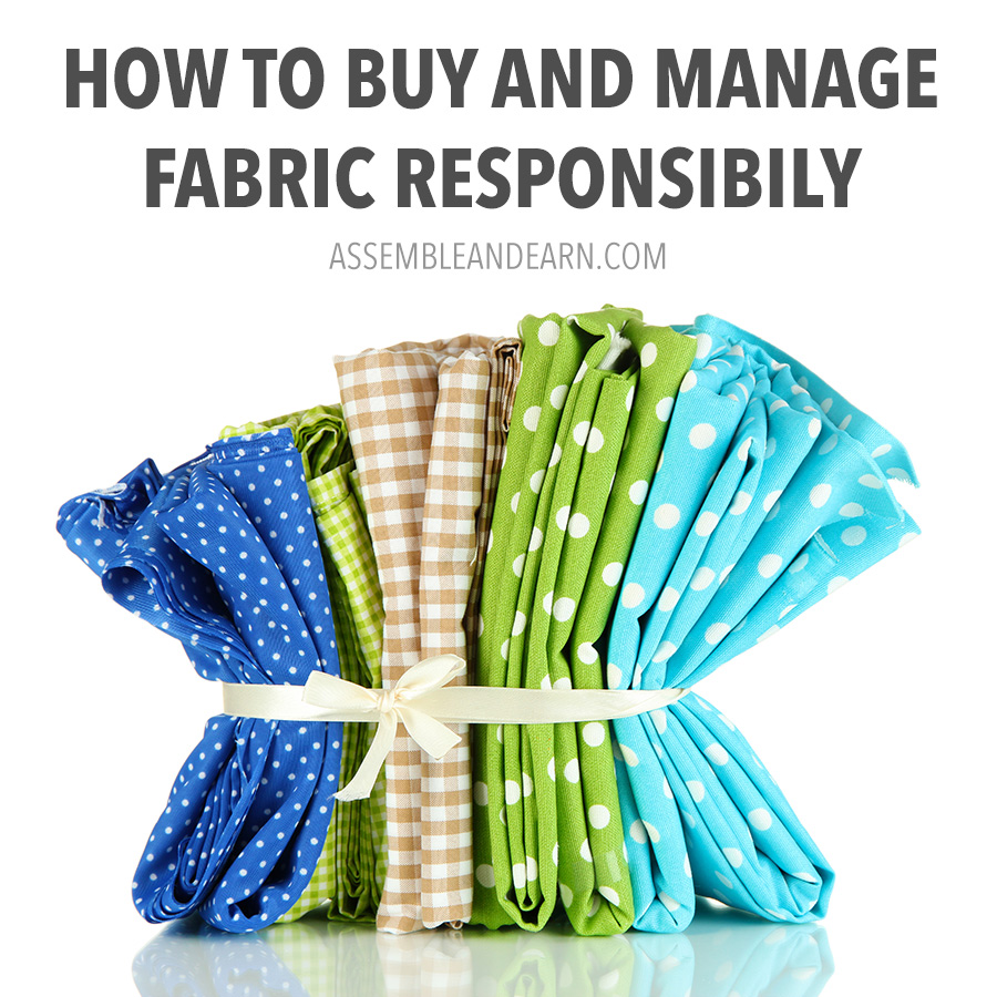 how to buy and manage fabrics
