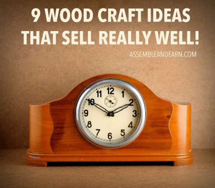 9 high selling wood crafts