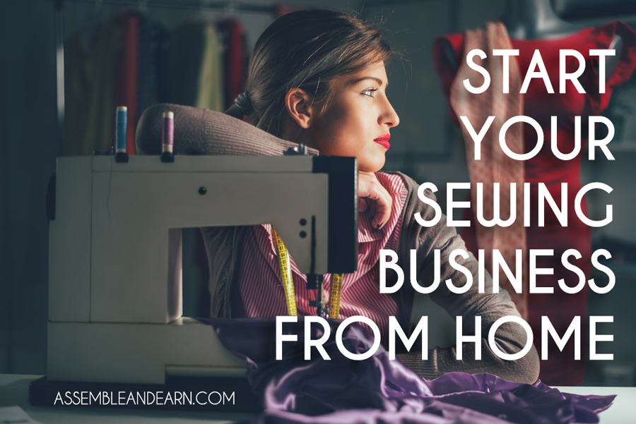 Start a sewing business from home