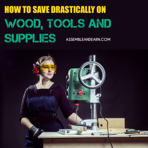Save money on woodworking