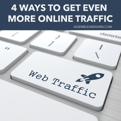 get more online traffic