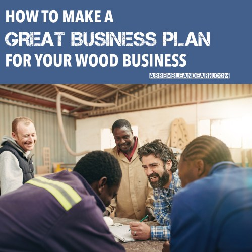 woodworking business plan