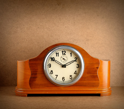 Wooden clock project