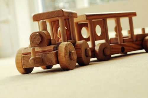 Wood car toy