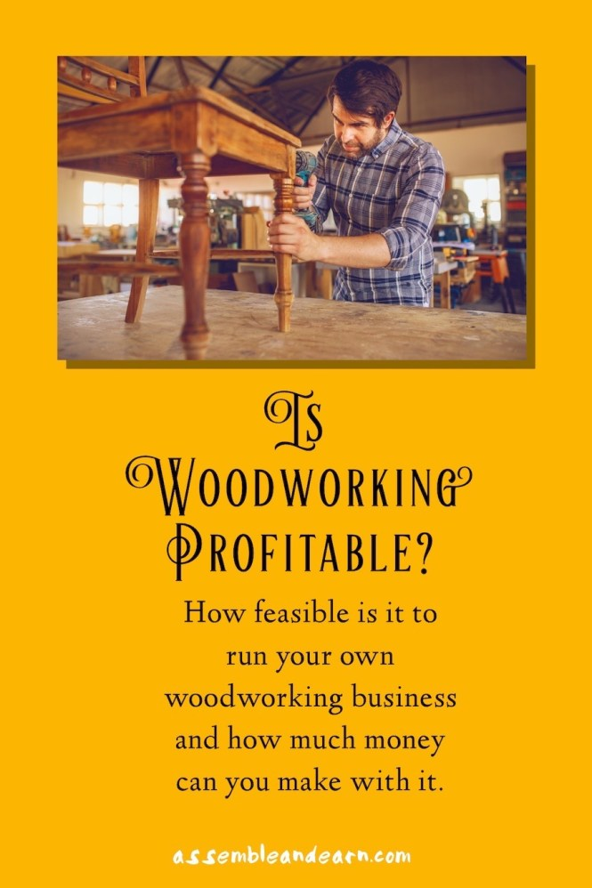 can you make money with woodworking