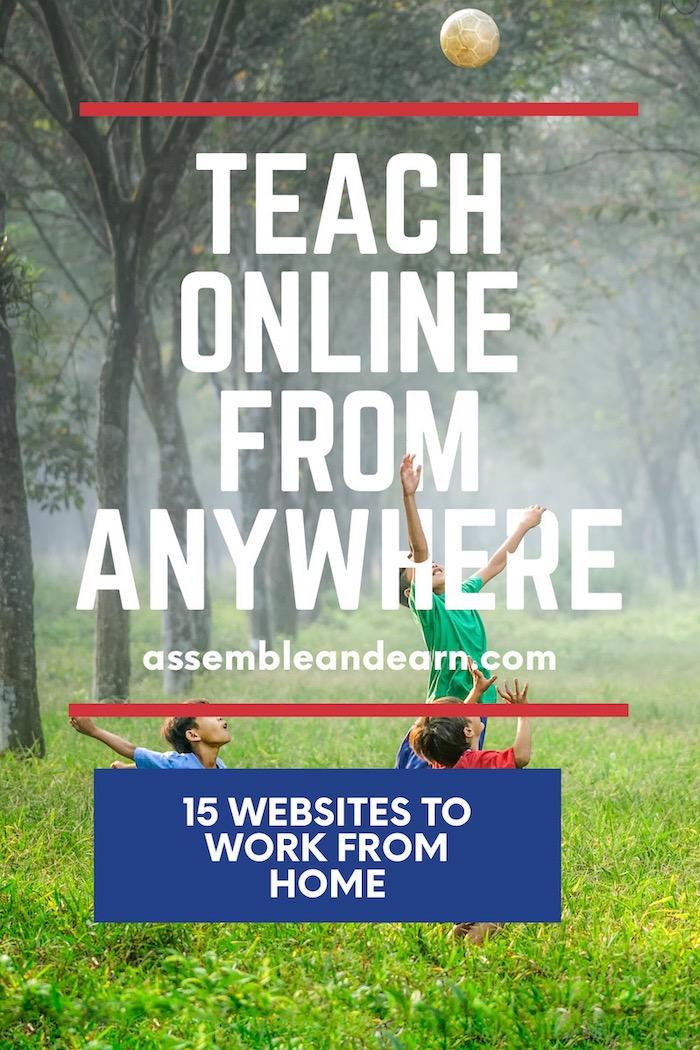 Remote teaching jobs