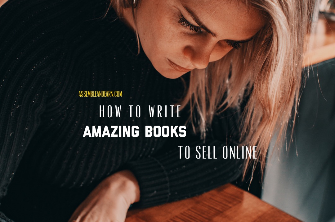 How To Write Amazing Books To Sell Online