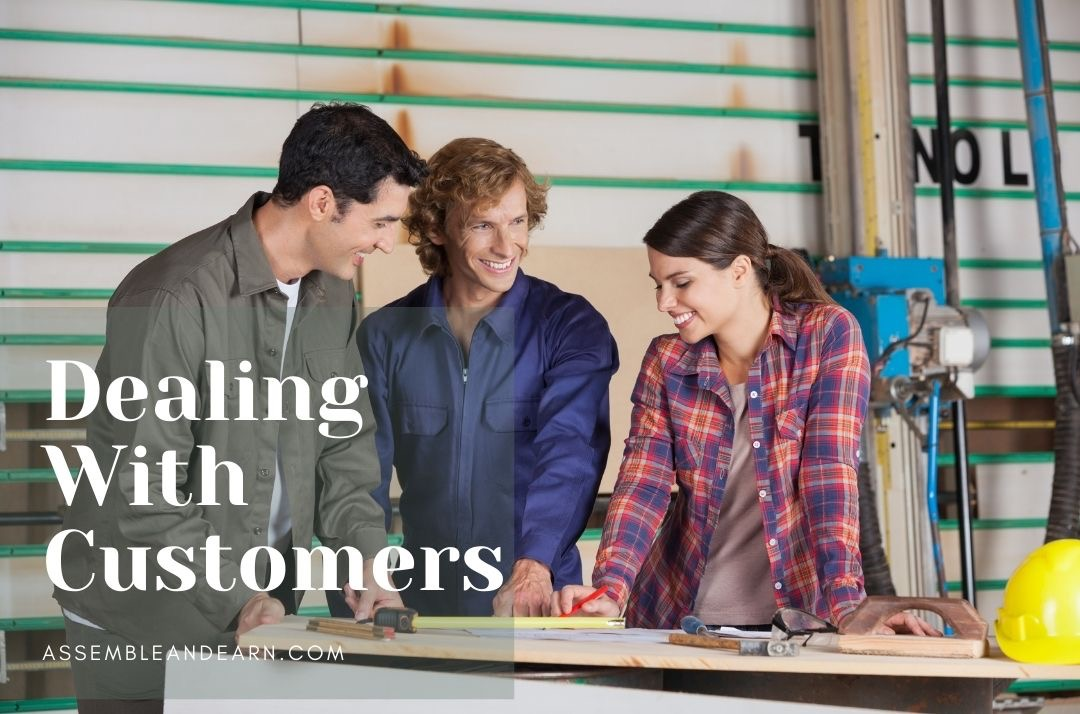 Customer Service – Dealing With Complaints In a Woodworking Business